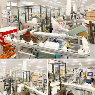 COVID-19 : mobilisation des Laboratoires Guinot