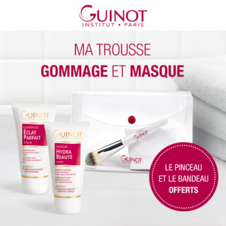 Ma Trousse Eclat : Gommage & Masque