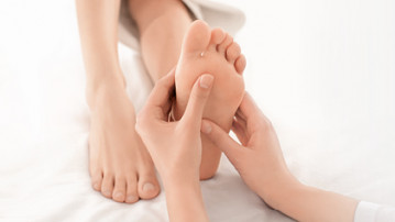 Foot Peeling Treatment